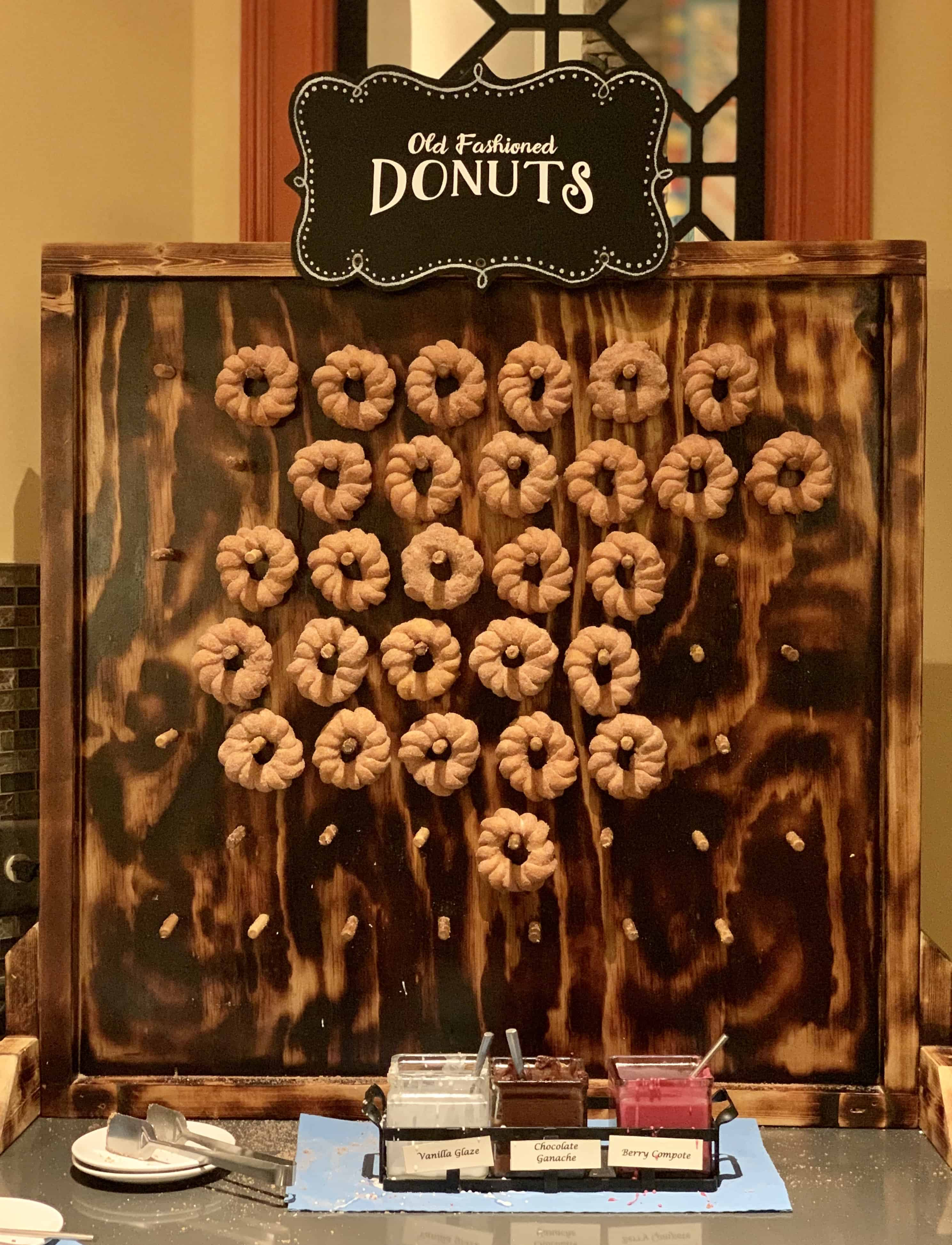 Dollywood's DreamMore Resort Donut Wall